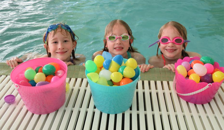 Lemont Park District Aquatic Easter Egg Hunt