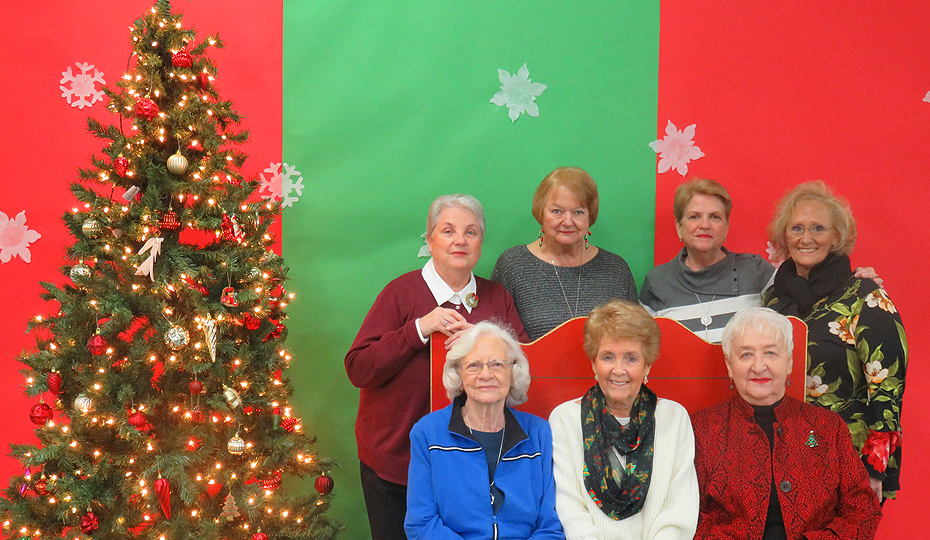 Lemont Park District Senior HOliday Party